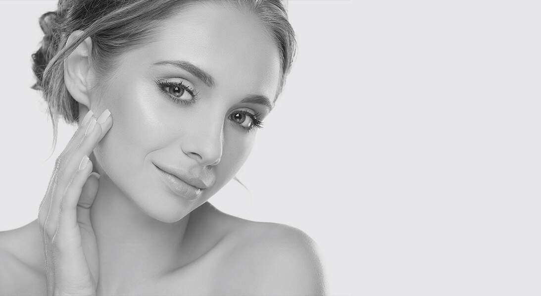 woman cheek plastic surgery houston