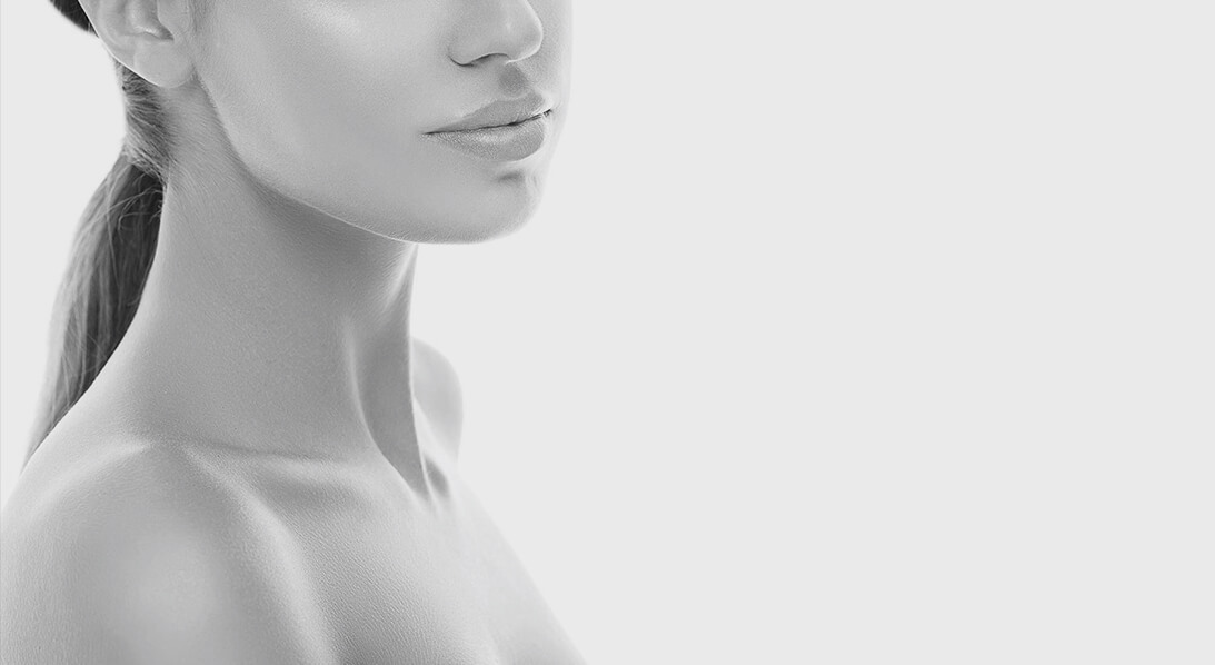 female face chin augmentation houston